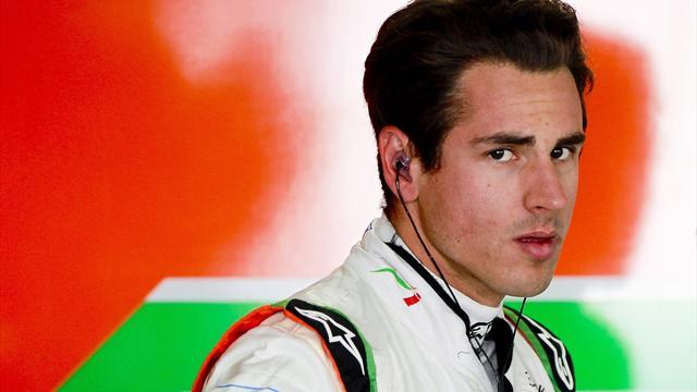 Formula 1 - Sutil to vie with Bianchi in Force India test