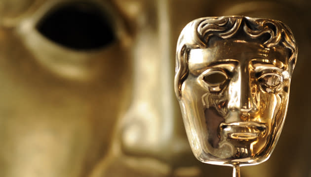 Going for gold... BAFTA gong (Credit: PA)