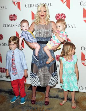"Tori Spelling: Stella, 4, ""Plans Parties, Bakes and Makes DIY Gifts"""