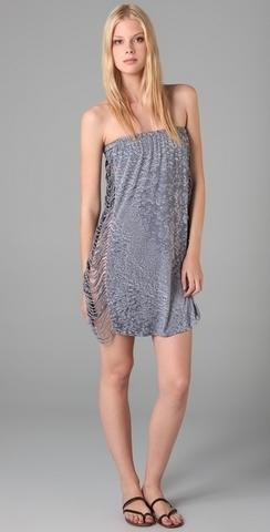 Indah Strapless Cutout Dress, $95, at Shopbop