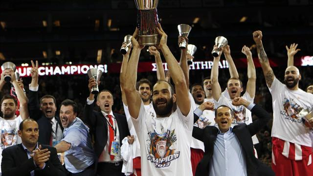 """Basketball - Spanoulis drives Olympiakos's """"miracle"""" victory"""