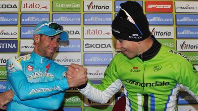 Cycling - Froome loses Tirreno-Adriatico lead to Nibali as Sagan shines