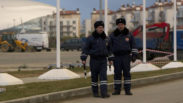 Winter Sports - Russia tightens security in Sochi before Olympics