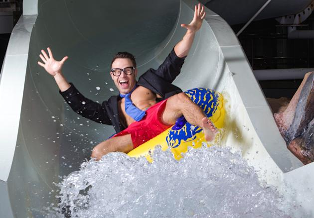 A major travel firm is advertising for the world's most fun job - as a water slide tester