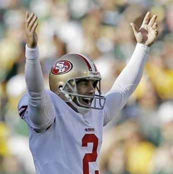 49ers' Akers ties NFL record with 63-yard FG The Associated Press Getty Images Getty Images Getty Images Getty Images