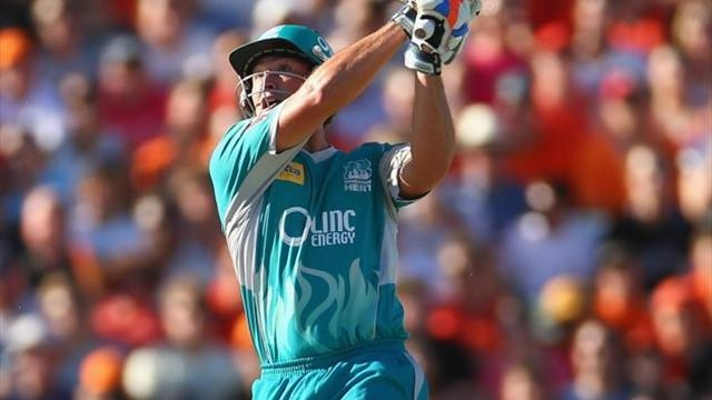 Cricket - Brisbane Heat claim Big Bash crown