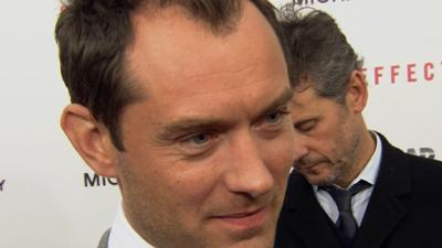 """Jude Law Describes Side Effects At NYC Premiere: It's An Un-Guessable Thriller"""""""
