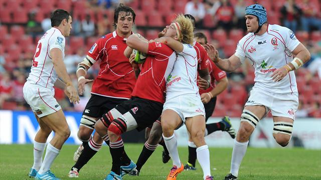 Super Rugby - Cooper show not enough as Lions beat Reds