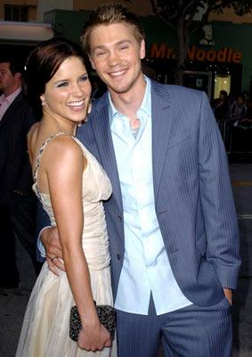 Sophia Bush and Chad Michael Murray at the Westwood premiere of Warner Bros. Pictures' House of Wax