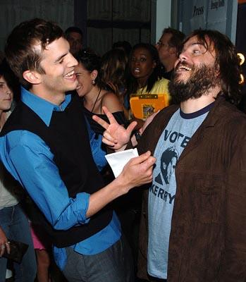 Ashton Kutcher and Jack Black MTV Movie Awards - 6/5/2004