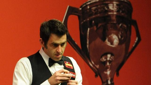 Snooker - Champion O'Sullivan in Crucible battle with impressive Perry