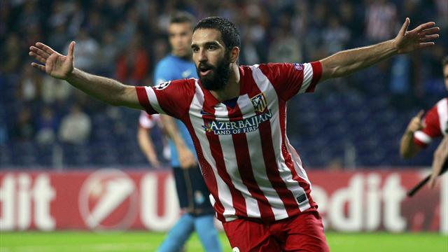 Champions League - Atletico's Arda out of Barca clash