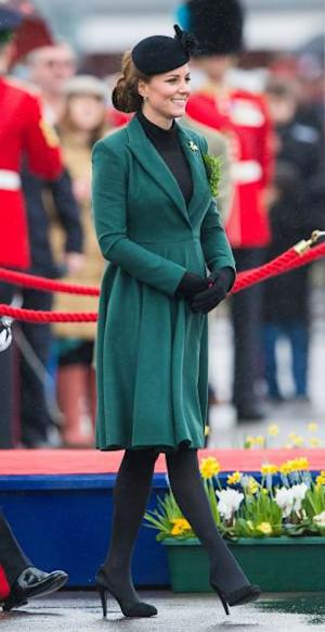 Kate Middleton London Pregnant 2013 -- WireImage