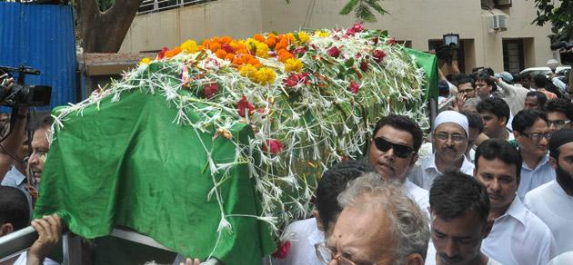 Celebs at Jiah Khan's final journey
