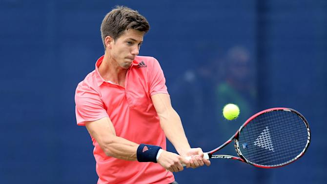 Tennis - Britain's Aljaz Bedene reaches Hamburg Open quarter-finals