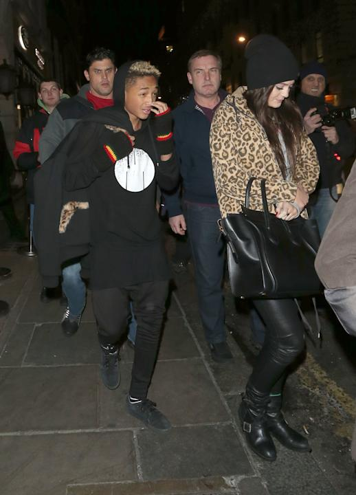 Kylie Jenner y Jayden Smith en Londres