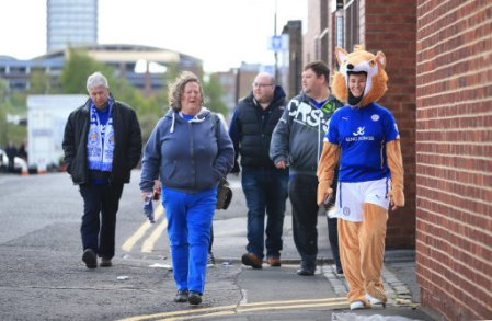Leicester City's supporters