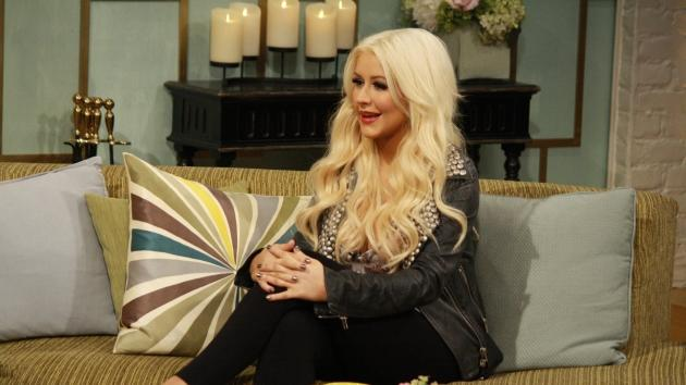 Christina Aguilera stops by Access Hollywood Live on March 26, 2012 -- Access Hollywood