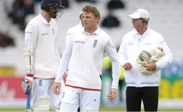 CRIC: England's Jos Buttler after being hit on the hand
