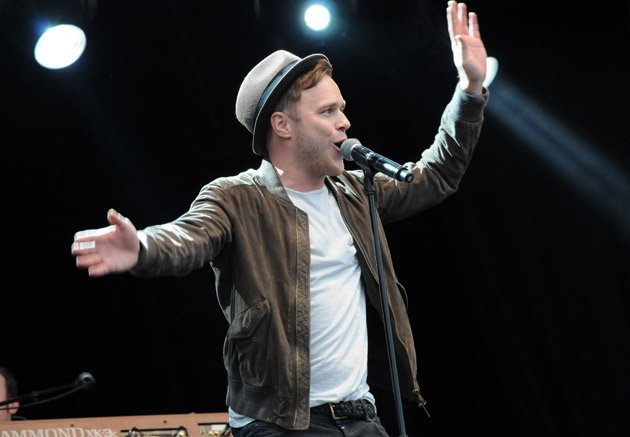 Olly Murs, Radio 1 stage, T in the Park