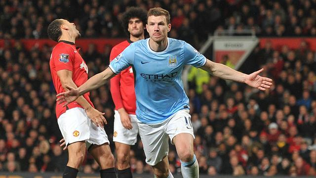 Premier League - Dzeko: City the boss of Manchester