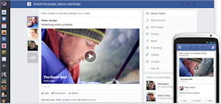 Facebook News Feed Redesign: What Marketers Need to Know image facebook newsfeed mobile