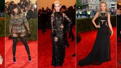 Sarah Jessica Parker, Madonna, Anne Hathaway, Taylor Swift and Jennifer Lopez at Met Gala 2013 -- Getty Images / WireImage