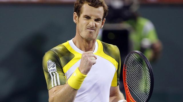 Indian Wells Masters - Murray v Del Potro: LIVE
