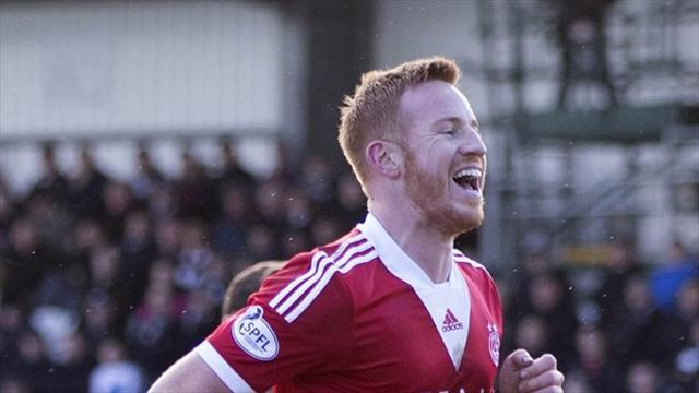 Scottish Premiership - Rooney rescues a point for Aberdeen