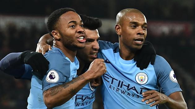 Raheem Sterling opened the scoring before an own goal from Tyrone Mings handed Manchester City a 2-0 win at Bournemouth.