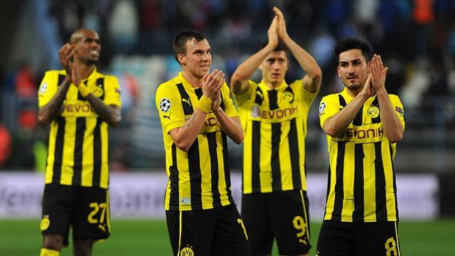 Champions League - Dortmund upbeat despite wasted chances in Malaga