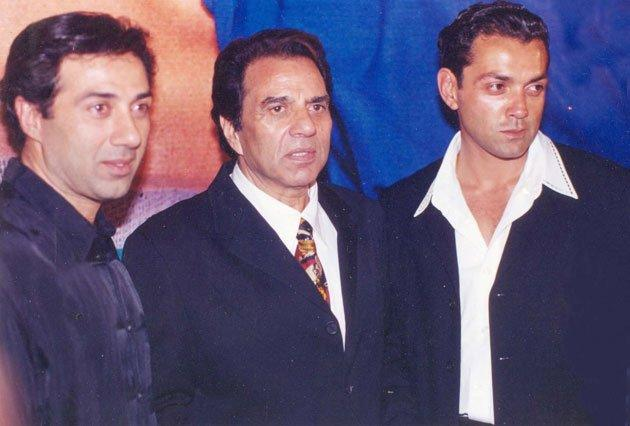 Up,close and personal: Dharmendra
