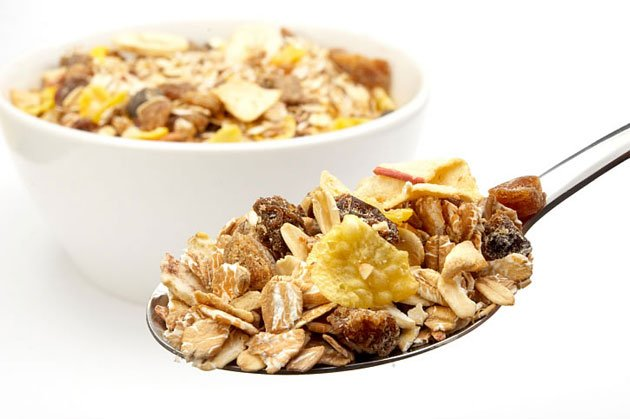 Cereal is high in carbohydrates. (Thinkstock photo)