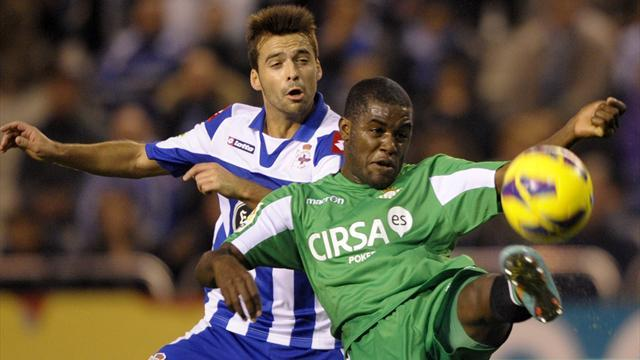 Liga - Arsenal-owned Campbell inspires Betis to win