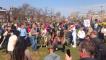 Crowds Gather in Amsterdam Despite COVID-19 Restrictions