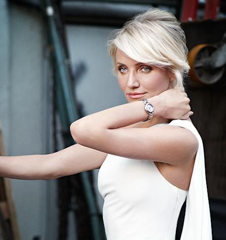 PIC: Cameron Diaz Stuns in New Tag Heuer Ad