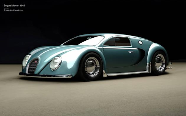 BEETLE BUGATTI The supercool car concept re-imagines two great marques and two classic cars in one awesome automobile - imagine the Bugatti Veyron and the legendary Volkswagen Beetle infused and you h