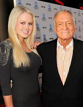 Hugh Hefner Rebounds With Anna Sophia Berglund