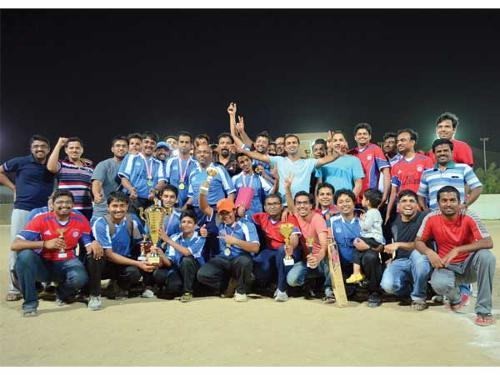 TCS Thunders bag NCB IT Cricket trophy