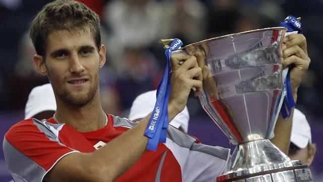 Tennis - Slovak Kilzan wins first ATP title in St Petersburg