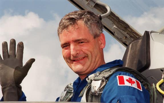 Canada's 1st Astronaut Launches Political Leadership Bid