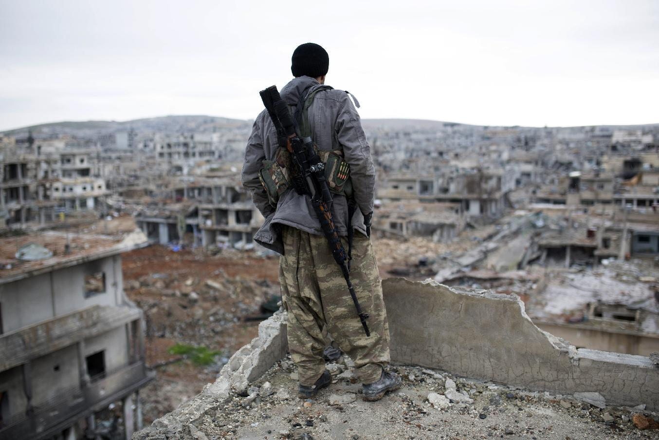 Islamic State fighters admit defeat in Syrian town of Kobani