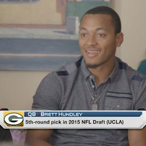 What is quarterback Brett Hundley's future with the Green Bay Packers?