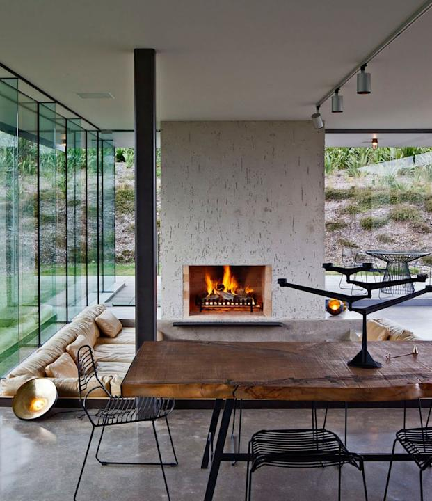 Modern fireplaces
