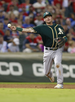 Not only is Josh Donaldson an excellent defender but he hit 53 total homers the past two seasons. (USA TODAY Sports)