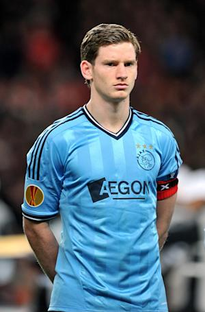 Jan Vertonghen is set to become Andre Villas-Boas' second signing at Tottenham