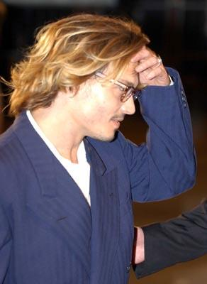 Johnny Depp Once Upon A Time In Mexico Venice Film Festival - 8/29/2003