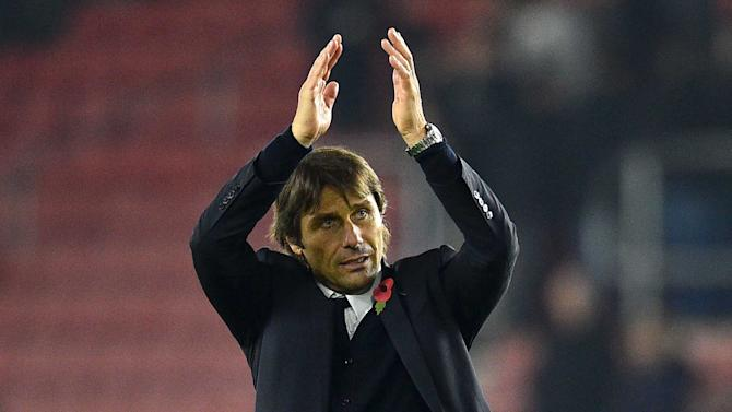 Chelsea's Conte 'doesn't do second place' - Buffon