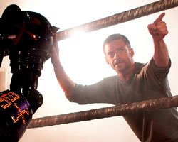 Hugh Jackman in 'Real Steel' DreamWorks Pictures