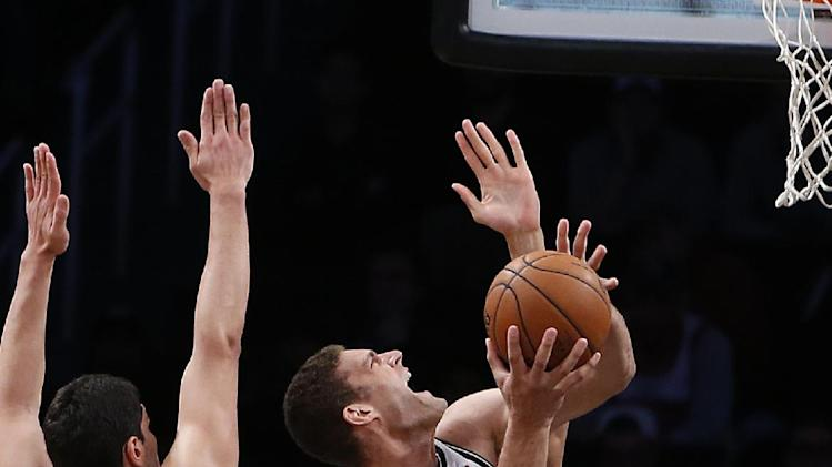 Lopez leads Nets in 104-88 win over Jazz